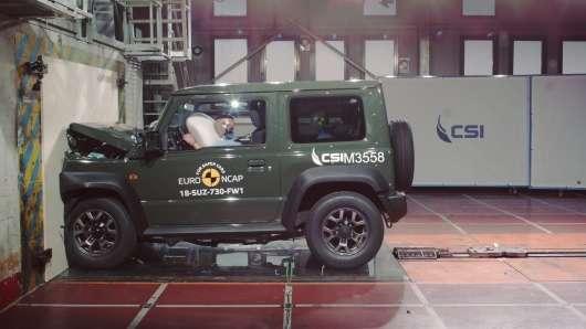 Новий позашляховик Suzuki Jimny розчарував в краш-тестах