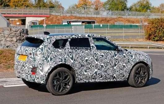 Друге покоління Range Rover Evoque на підході: от яким воно буде