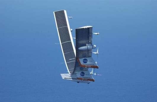 «Boeing Odysseus» літак на сонячних батареях, здатний залишатися в повітрі як завгодно довго