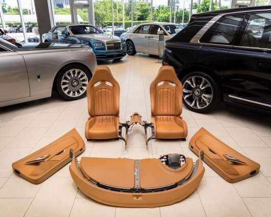 Скільки вішати в грамах: вартість інтерєру Bugatti Veyron приголомшить навіть мільйонера