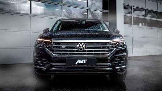 Новий VW Touareg від тюнер ABT збільшує потужність і розмір коліс
