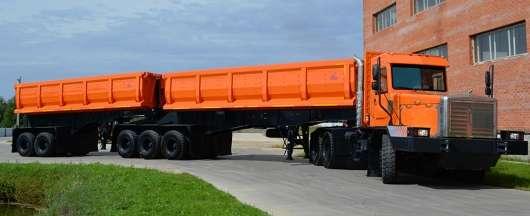 Наші зробили один з найважчих автопоїздів у світі, вантажопідйомністю 200 тонн