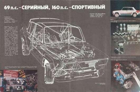 Як Lada 2105 VFTS в світовому раллійном чемпіонаті виступала