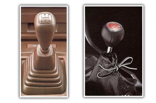 Який чохол важеля КПП краще: гумовий або шкіряний?