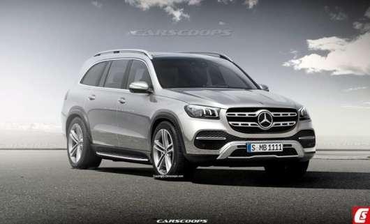 2020 Mercedes-Benz GLS: двигуни, дизайн зміни третього покоління