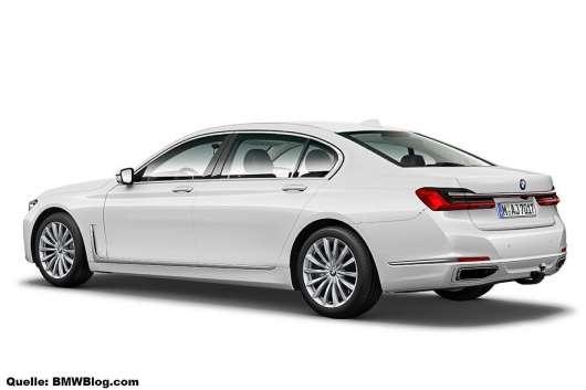 BMW допрацювала свій флагман величезними «ніздрями»: оновлений BMW 7-Series
