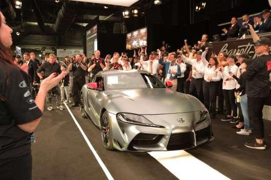 Перша Toyota GR Supra продана за 2,1 мільйона доларів!