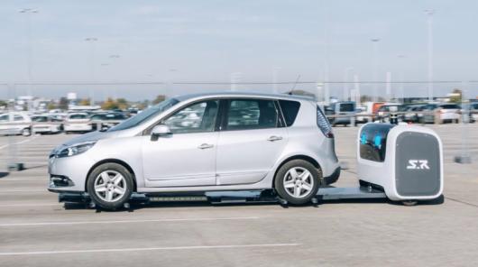 У Британії винайшли паркоботов для паркування вашого автомобіля