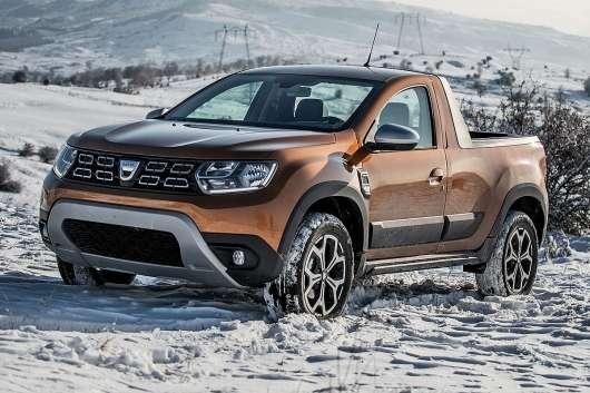 Renault Duster представили у вигляді пікапа