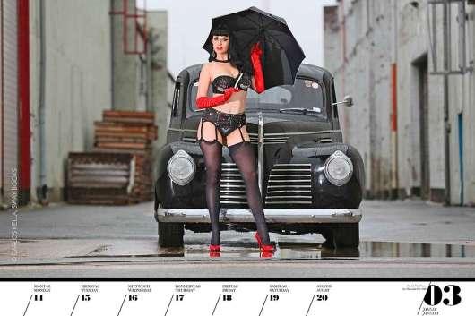 Самий крутий автомобільний календар для справжніх чоловіків 2019 року