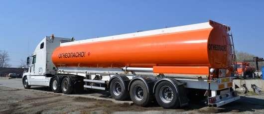 МВС змінить регламент щодо допуску вантажівок з небезпечними вантажами