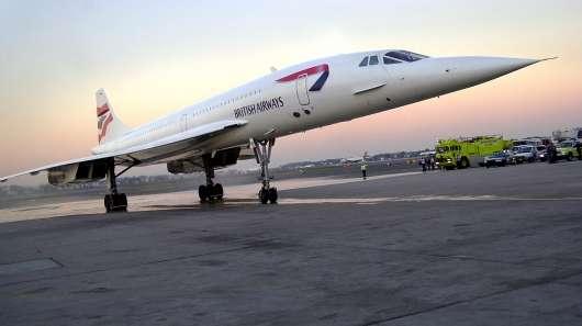 Ось який звук видавав Concorde при переході звукового барєру