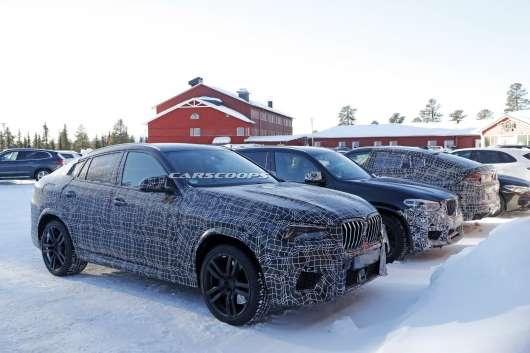 Зявився шанс вперше заглянути всередину прототипу 2020 BMW X6 M