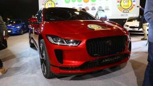 Jaguar I-Pace став європейським автомобілем 2019 року