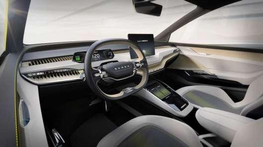 Skoda показала дивовижний електричний концепт кросовера Vision iV Concept
