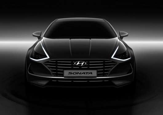2020 Hyundai Sonata: за розмірами – як БМВ 5-ї серії, зовні – наче Audi A7