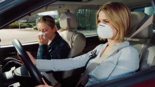 Алергія за кермом на дорозі майже так само небезпечна, як і спяніння
