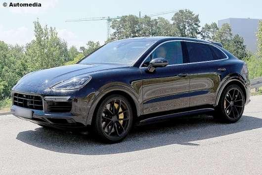 Porsche Cayenne Coupe: вся інформація на сьогоднішній момент