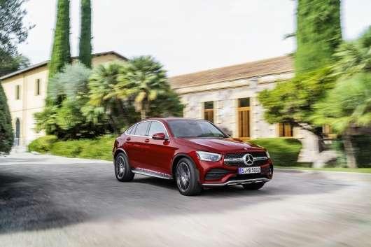 Мерседес оновив купе-кросовер GLC Coupe: нові технології