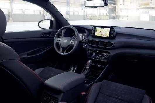 Хендаи вперше зробив з нового Туса спортивний автомобіль