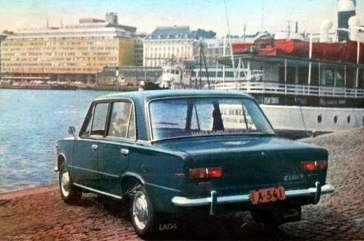 ВАЗ «Копійка» у Фінляндії: реклама з 70-х років